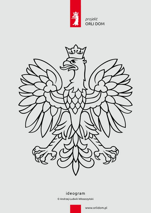 godło RP, ideogram