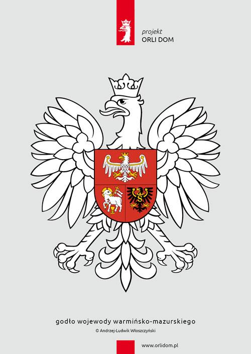 godło wojewody warmińsko-mazurskiego